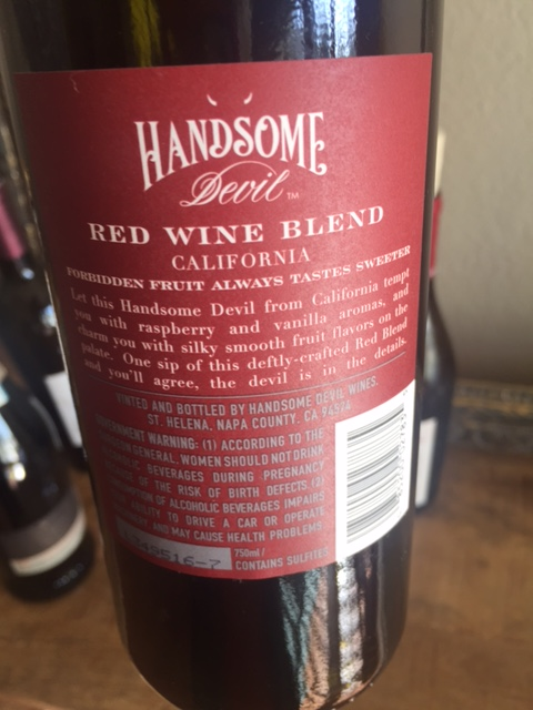 Handsome Devil Red Blend